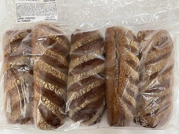 Pão Rústico Australiano Assado e Congelado com 5 unidades