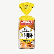 Pão Aminna Milho Sem Glúten Congelado 380g