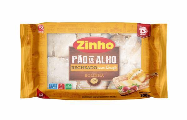 Pão De Alho Zinho Bolinha Recheado C/Queijo 300g
