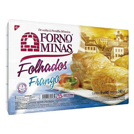 Folhado Forno De Minas Frango Congelado 240g