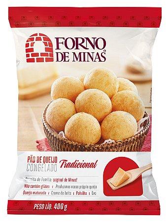 Pão Queijo Forno De Minas Tradicional Congelado 400g