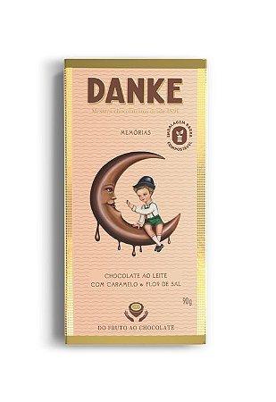 Chocolate Danke Caramelo/Flor Sal 90g