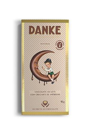 Chocolate Danke Crocante Amendoas 90g