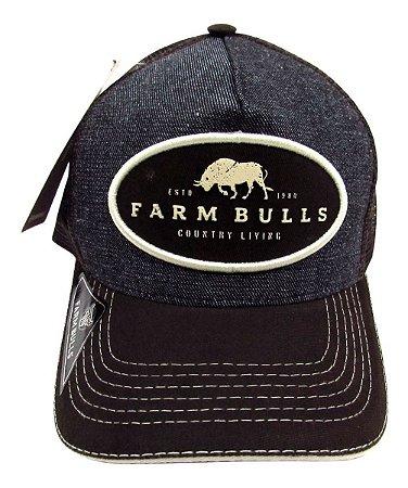Boné Para Lida Country Bulls Farm 1980 Com Telinha Barato