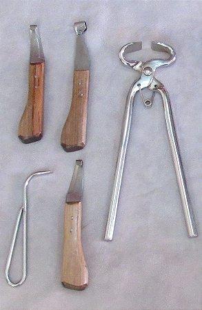 Kit Para Casquear Profissional Completo Desconto Novo 03