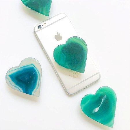 Pop Ágata Coração Verde