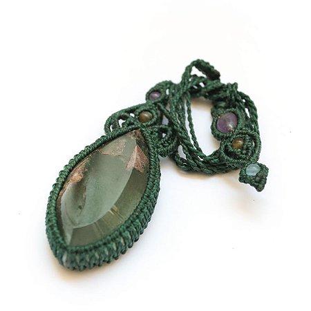Amuleto de Quartzo Verde