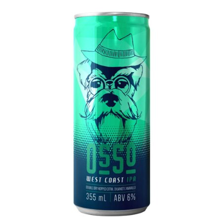 Cerveja Artesanal Latido Osso West Coast IPA 355 mL