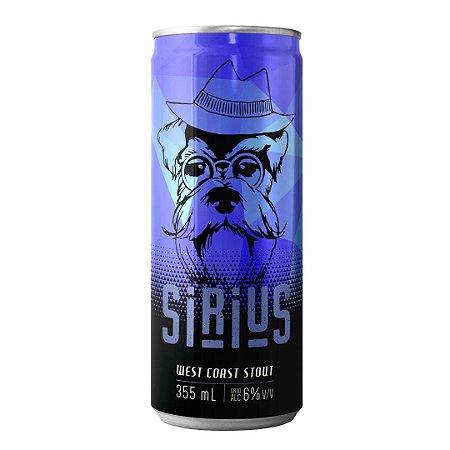Cerveja Artesanal Latido Sirius West Coast Stout 355mL