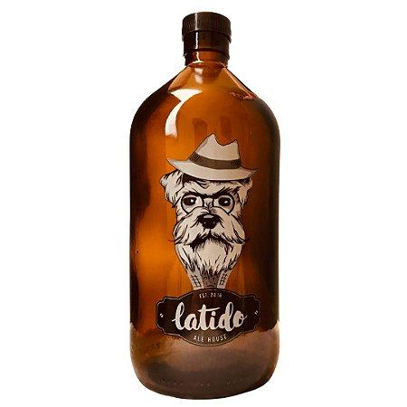 Growler de Vidro Cerveja Latido 1L
