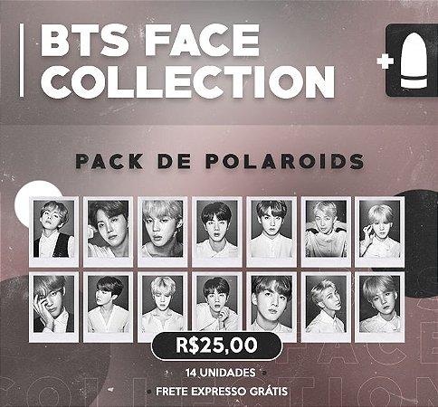 PACK POLAROIDS: BTS FACE COLLECTION