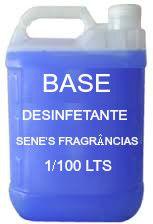 Base Desinfetante Concentrado 1/100 Lts