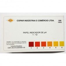 PAPEL INDICADOR DE pH 1-12