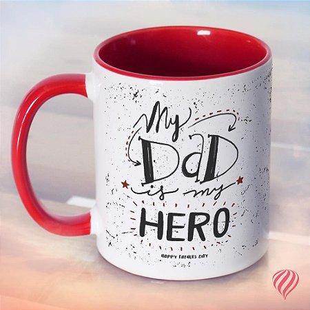 Caneca Pai - Dad is my Hero