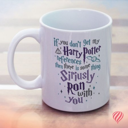 Caneca Siriusly Ron - Harry Potter