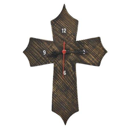 Relógio Cruz Preto