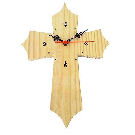 Relógio Cruz Natural