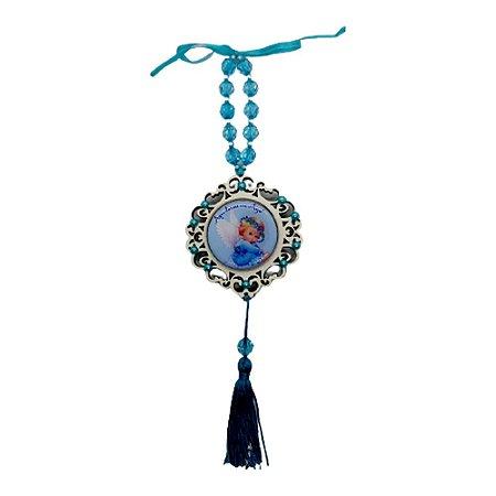 Medalhão de Berço Azul