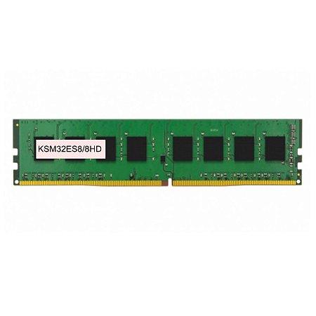 Memoria Servidor 8Gb Ddr4 3200 Ecc Udimm KSM32ES8/8HD