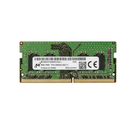 Memoria Notebook 8Gb Ddr4 3200 Sodimm mta8atf1g64hz-3g2
