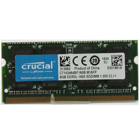 Memoria Mac Notebook 8Gb Ddr3L 1600 Sodimm Crucial