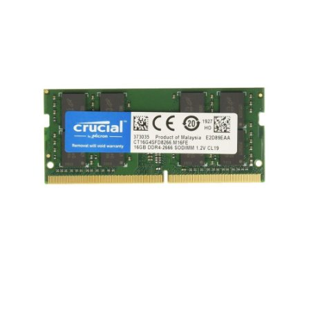 Memoria Notebook 16Gb Ddr4 2666 260P Sodimm CT16G4SFRA266