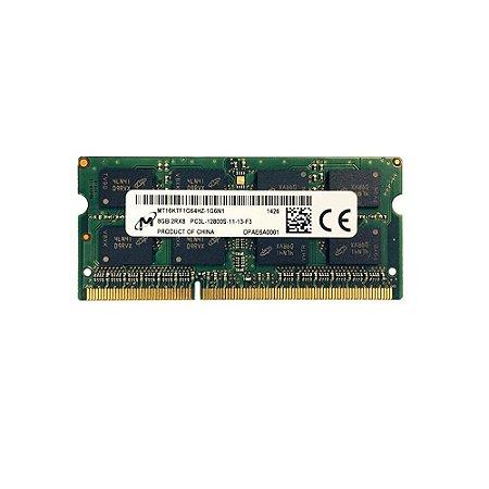Memoria Notebook 8Gb Ddr3L 1600 Sodimm MT16KTF1G64HZ-1G6