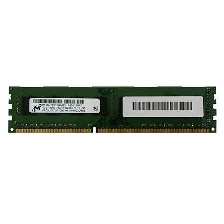 Memoria Pc 4Gb Ddr3 1333 Udimm MT16JTF51264AZ-1G4D1