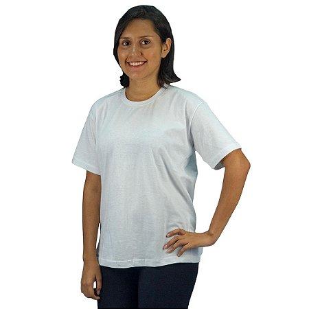Camisa Malha Branca/ Mescla