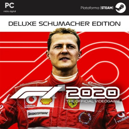 Jogo F1 2020: Deluxe Schumacher Edition (Mídia Digital) - PC