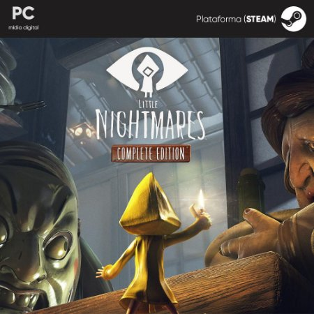 Jogo Little Nightmares: Complete Edition (Mídia Digital) - PC