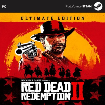 Jogo Red Dead Redemption 2: Ultimate Edition (Mídia Digital) - PC