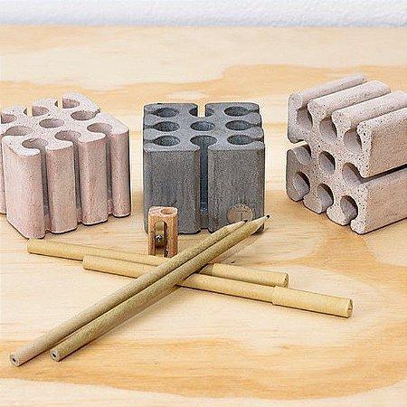 Porta Lápis Cement Rosa