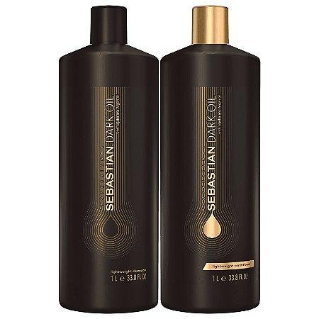 Kit Sebastian Professional Dark Oil  Tamanho Salão (dois produtos)