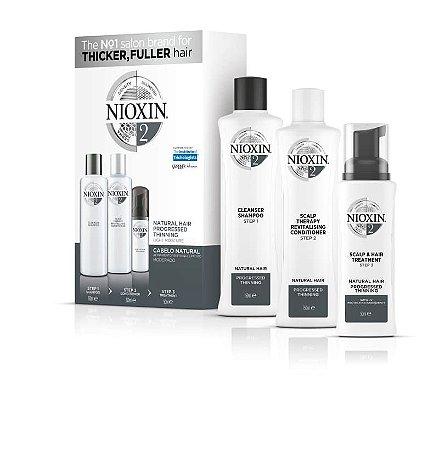 Nioxin Sistema 2 - Kit de Tratamento 150ml (3 Produtos)