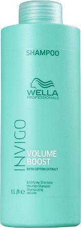 Shampoo Wella Professionals Invigo Volume Boost -  1 Litro