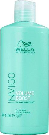 Wella Professionals Invigo Volume Boost Crystal - Máscara Capilar 500ml