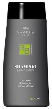 Shampoo - 3 em 1 - Men