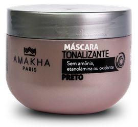 Máscara Tonalizante - Preto