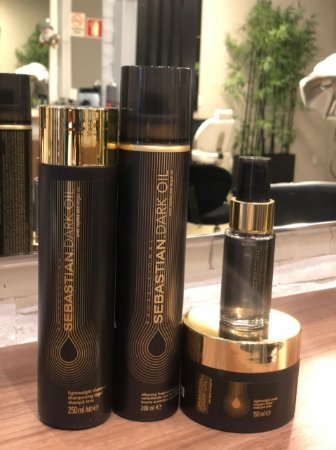 Kit Sebastian Professional Dark Oil Intenso (4 Produtos)