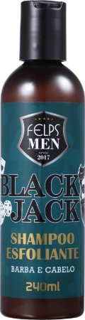 Felps Profissional Men Black Jack Esfoliante - Shampoo Multifuncional 240ml