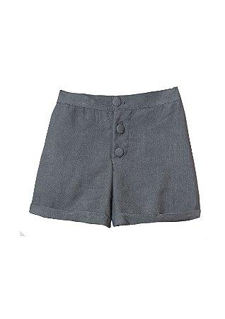 Shorts com botões unissex - Elementos da natureza