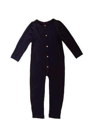 Pijama-Macacão Preto Unissex- Anoitecer