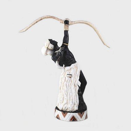 Orixá Oxóssi (Médio marfim)