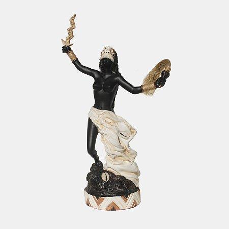Orixá Iansã (Média marfim)