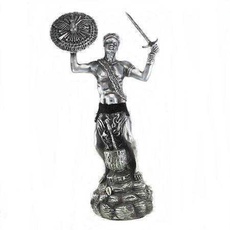 Orixá Oxaguiã (Grande prata)
