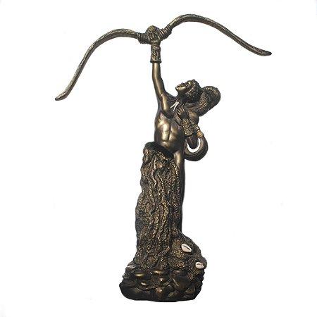Orixá Oxóssi (Grande bronze)