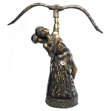 Orixá Oxóssi (Médio bronze)