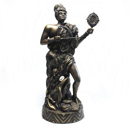 Orixá Logunedê (Médio bronze)