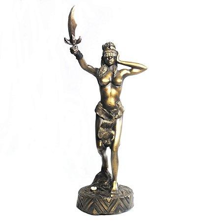 Orixá Obá (Médio bronze)